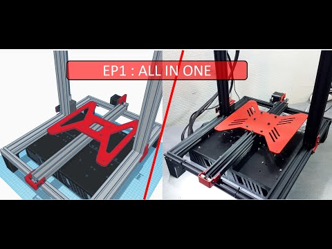 Alfawise U20PRO  EP1: All in one #17 #IMPRESSION 3D #ALFAWISE