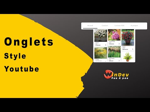 Onglets style Youtube