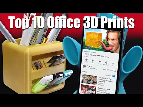 Top 10 3D Printing Ideas For Your Office