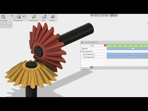 How to make animation in Fusion 360 - fusion 360 tutorial