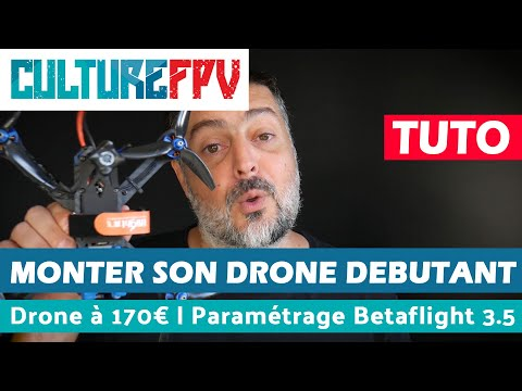 Monter son drone à 170€ v2 | Part 3 | installation de betaflight 3.5