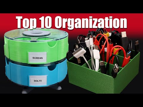 Top 10 Organization 3D Prints For Home