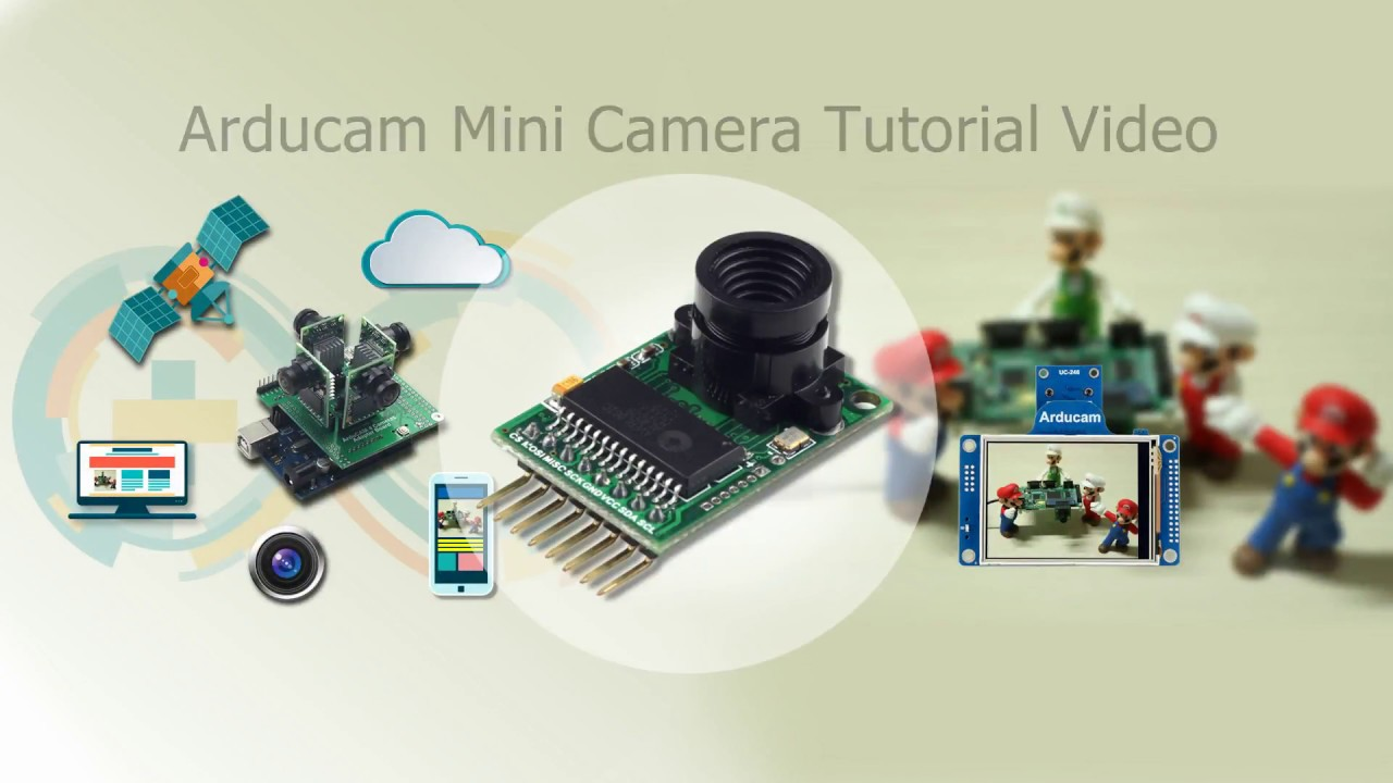 Arducam Mini 2MP SPI Camera Module for Arduino Tutorial