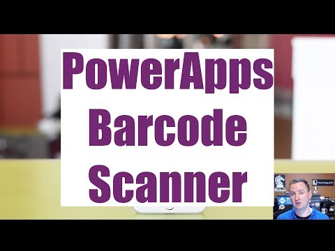 PowerApps Barcode Scanner - Updated!