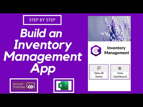 Build an Inventory Management App using PowerApps | Tutorial | Step by step